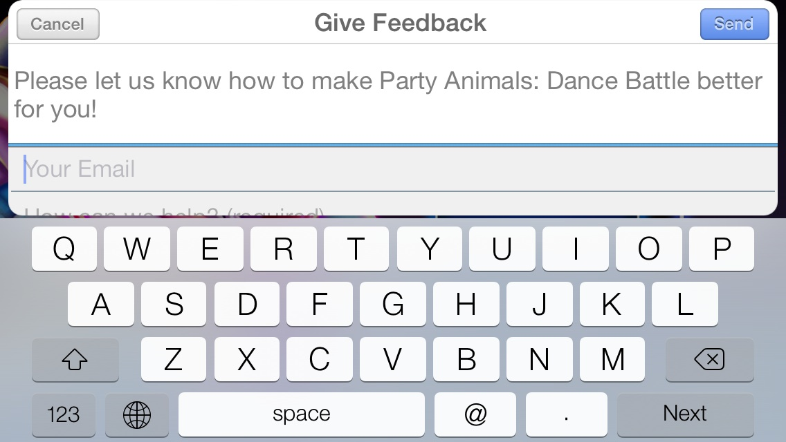 Party Animals: Dance Battle Feedback