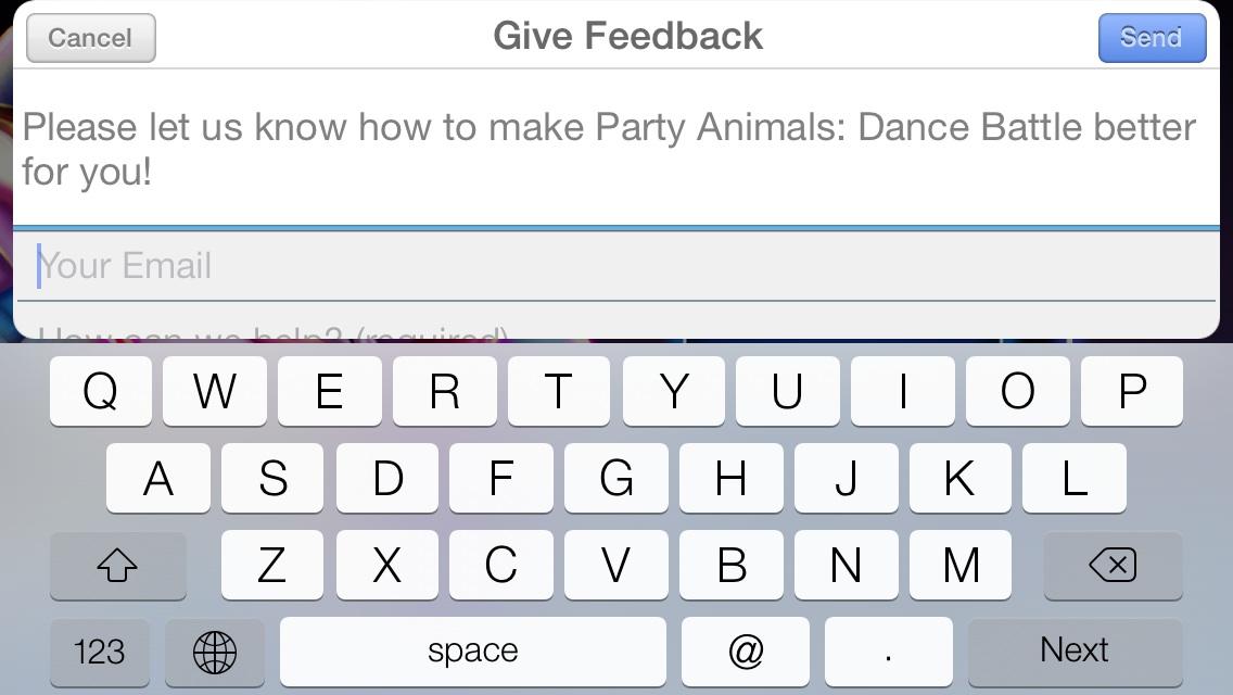 Party Animals: Dance Battle Feedback